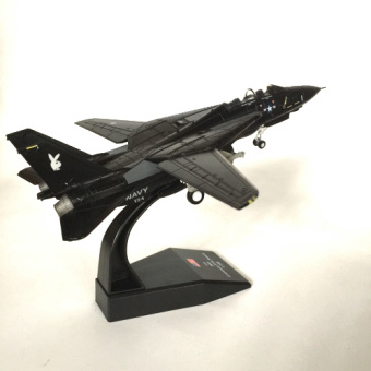 1/100 new Amer hardcover us F14 Black Rabbit fighting machineAircraft Model