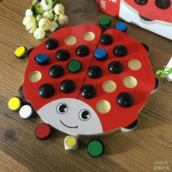 Baby early childhood scarab color memory chess