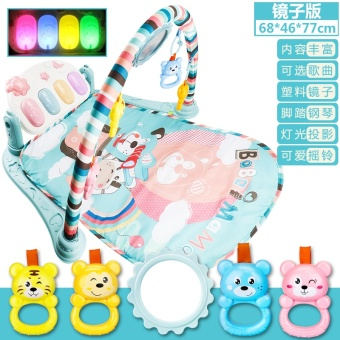 Baby fitness frame is foot piano puzzle game blanket newborn baby0-1-Year-Old 0-3-6-12 a month toys