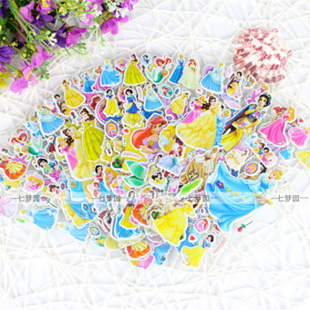 Baby nursery early childhood educational toys decals paper stickers