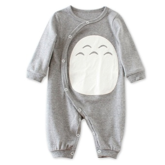 Baby Siamese clothes for men and women baby 0 newborn children 3 amonth cotton romper Spring and Autumn out long-sleeved spring andsummer climbing clothes