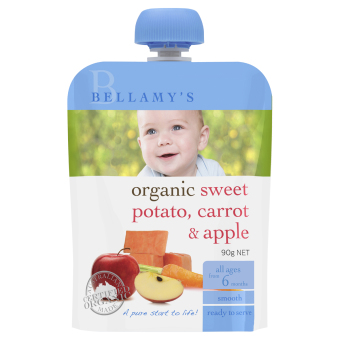 Bellamy's Organic Organic Sweet Potato, Carrot & Apple
