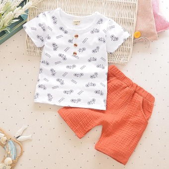 Boy's New style summer girls short sleeved t-shirt