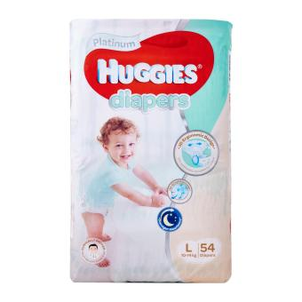 Huggies Platinum Diapers L 54pcs