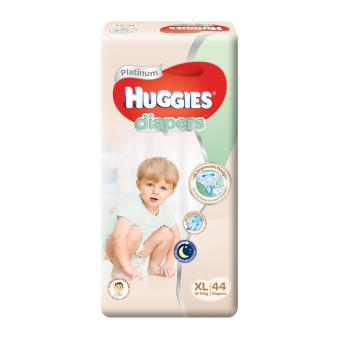 Huggies Platinum Diapers XL 44pcs