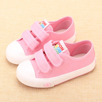 I boy's Baobao toddler shoes children canvas shoes