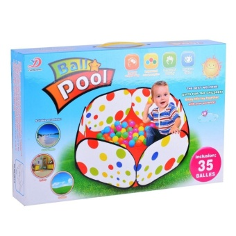 Kids Ball Pit Playpen Ball Play Pool Baby Ball Pool 35 Balls - intl