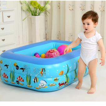 Leyi Inflatable swimming pool for children 120*90*35cm - intl