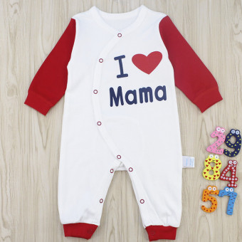 Li infant music baby Siamese clothes for men and women baby newborn children romper 3-6-12 a month climbing clothes 2 years old sleeping clothes