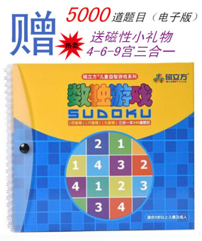 Magnetic Sudoku game chess