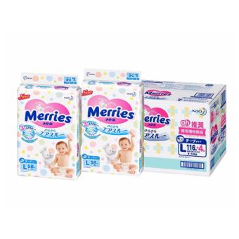 Merries (Best Value) Tape L58 (2 Giant packs)
