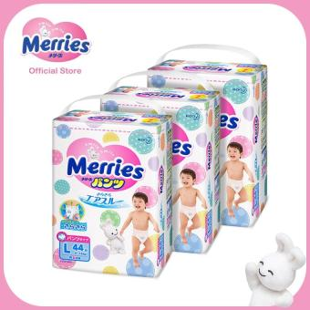 Merries Walker Pants Super Jumbo XL38s x 3 packs (12 - 22 kg)