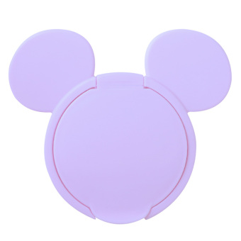 New Baby Wet Paper Lid Wet Wipes Cover (Purple) - intl