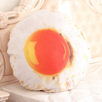 Papa pillow 3D simulation egg girls doll pillow