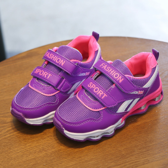 Shoes girls sports shoes 2017 spring New style Korean-style runningchildren's spring shoes mesh breathable casual shoes