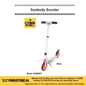 Sunbody Scooter-White