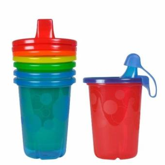 The First Years Take & Toss Spill-Proof Sippy Cups, 10oz, 4Pack