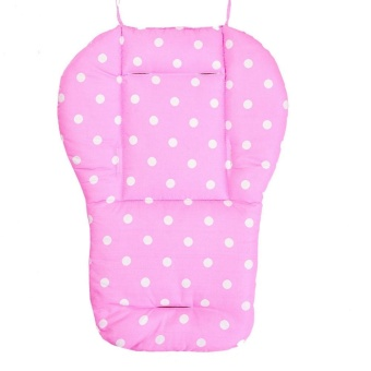 Thick Colorful Baby Infant Stroller Seat Pushchair Cushion Cotton Mat Dot - intl