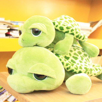 Turtle cute big pillow turtle doll