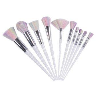 Imitation Mink Individual Eyelash Extensions Professional Make Up Source 10PCS Face Unicorn Brush .