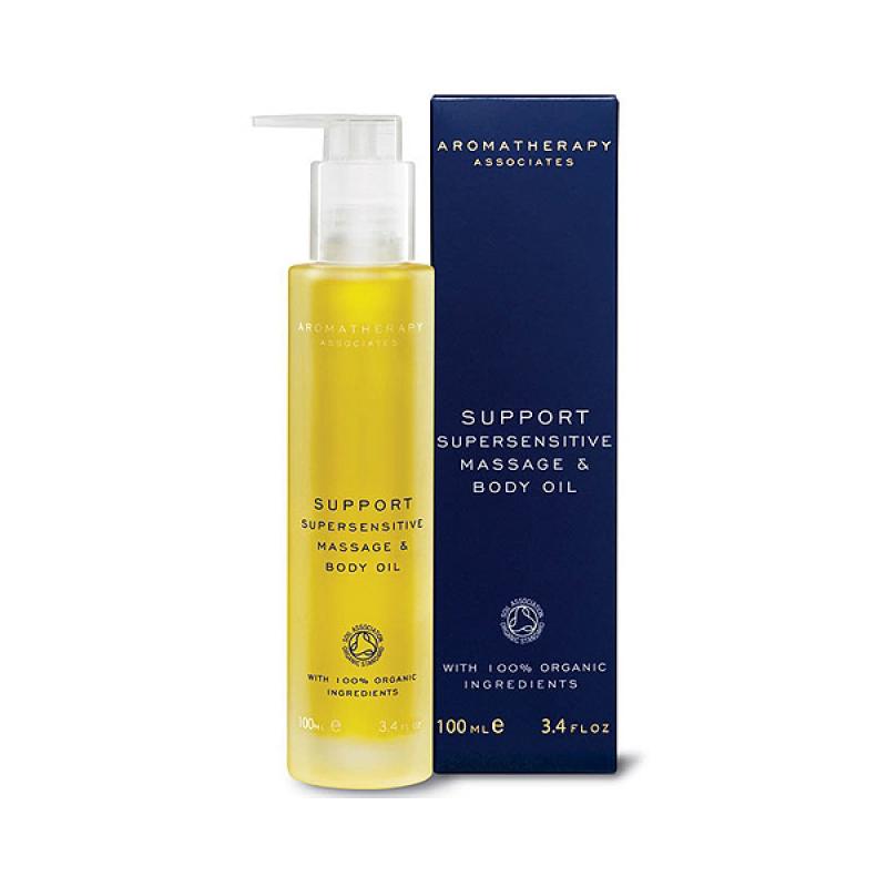 Buy Aromatherapy Associates Support Supersensitive Massage & Body Oil (100% Organic Ingredients) 3.4oz/100ml Singapore