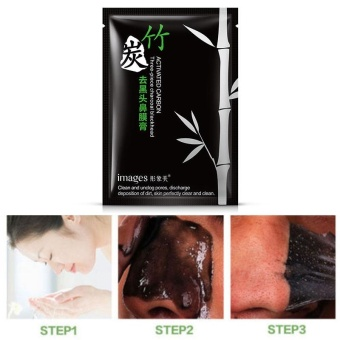 Blackhead Removal Cleaner Moderate Bamboo Charcoal Face Mask Facial Care - intl