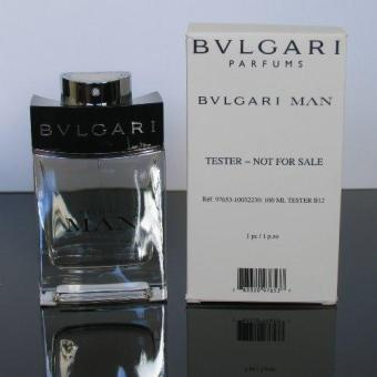 Bvlgari Man EDT 100ml [TESTER PACK]