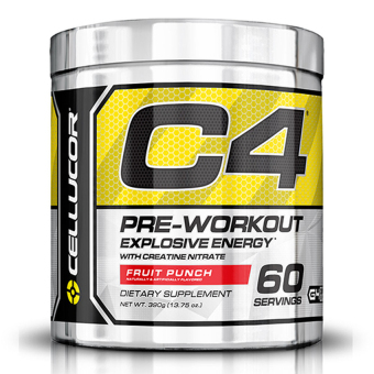 Cellucor Fourth Generation C4 Pre-Workout Fruit Punch (60s)
