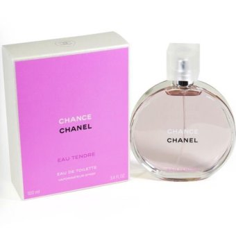 chanel chance eau de tendre eau de toilette for 100ml lazada singapore