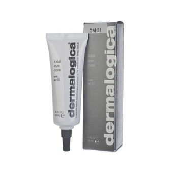 Dermalogica Total Eye Care SPF 15 0.5oz,15ml Skincare Eyes NEW (EXPORT)