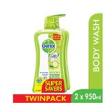 Dettol Body Wash Lasting Fresh P&P 950Ml x 2