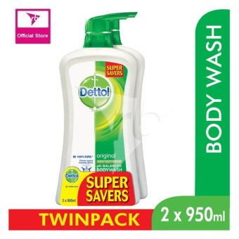 Dettol Body Wash Original P&P 950Ml x 2