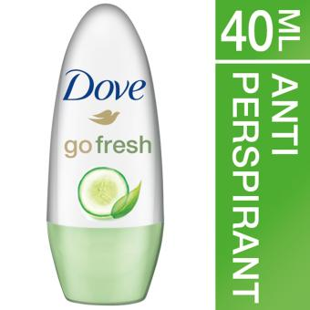 Dove Green Tea and Cucumber Deodorant Roll On - 1 x 40 ml