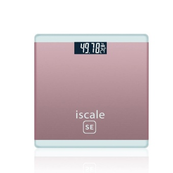 Electronic Scale Square Household Weighing Scale (Rose Gold) - intl