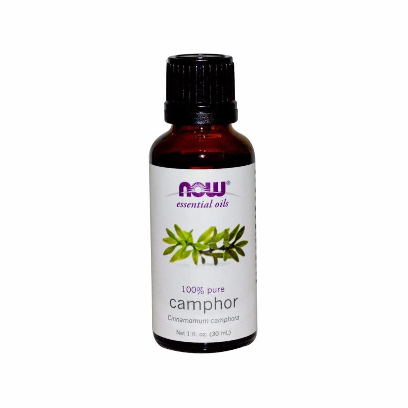 Buy Now Foods Essential Oils, Camphor, 1 fl oz (30 ml) Singapore