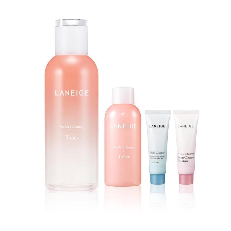 Buy [Exclusive Set] LANEIGE Fresh Calming Toner 250ml FEB18 Singapore