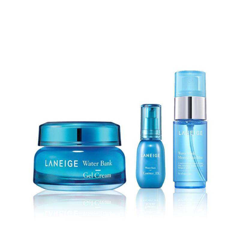 Buy [Exclusive Set] LANEIGE Water Bank Gel Cream 50ml FEB18 Singapore