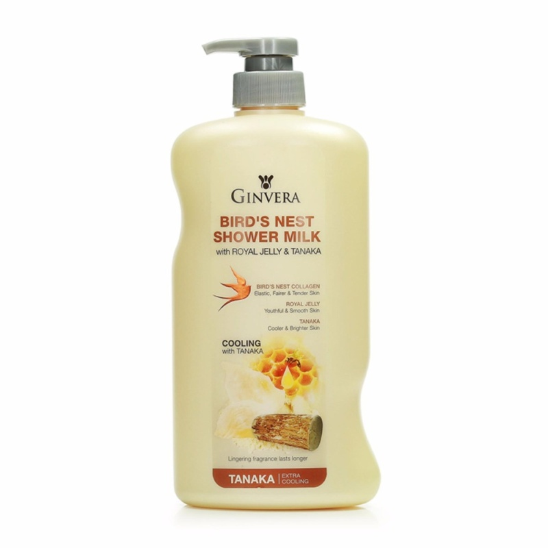 Buy Ginvera Birds Nest Shower Milk With Royal Jelly And Tanaka 750g Singapore