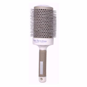 Hair Brush Ceramic Iron Round Hair Comb(53#) - intl