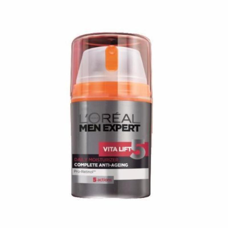 Buy LOreal Paris Men Expert Vita Lift 5 Complete Anti-Aging Daily Moisturizer Singapore