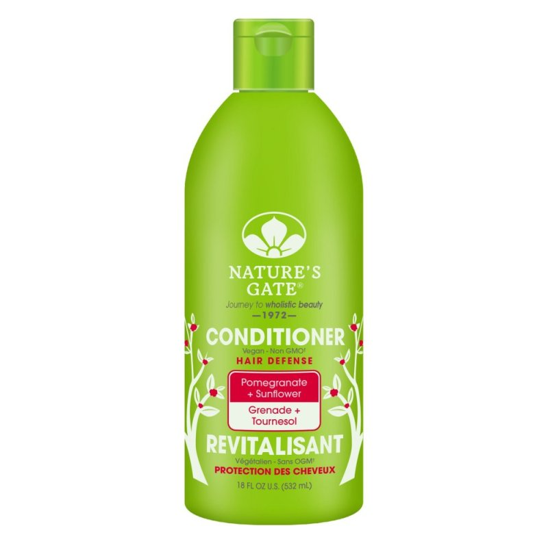 Buy Natures Gate Pomegranate + Sunflower Hair Defense Conditioner 532ml Singapore