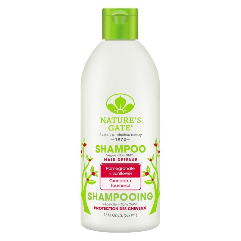 Buy Natures Gate Pomegranate + Sunflower Hair Defense Shampoo 532ml Singapore