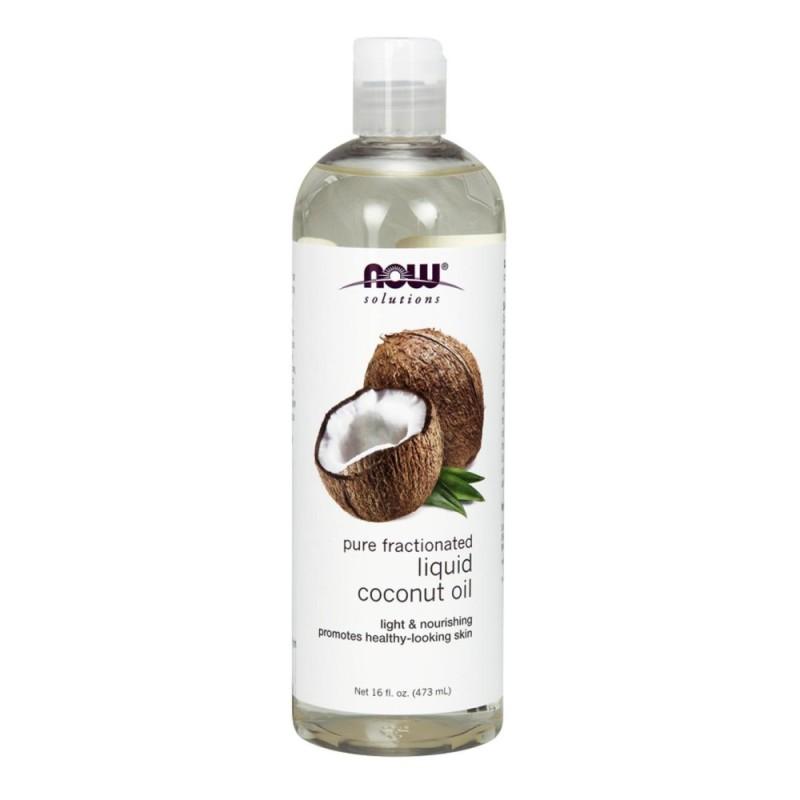 Buy Now Foods Liquid Coconut Oil Pure Fractionated 16 fl oz (473 ml) Singapore
