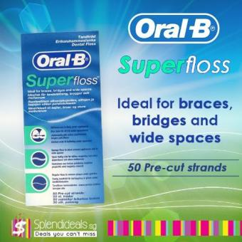 Oral B Super Floss 50s x 6 Boxes - 7369