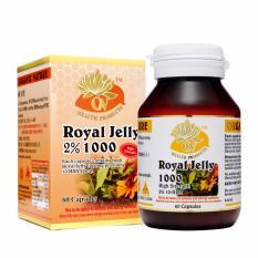 organic nature royal jelly 2 1000mg 60 capsules