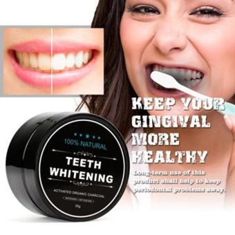 Organic Teeth Whitening Charcoal Powder 1 Jar