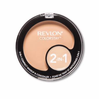 Revlon ColorStay(TM) 2-in-1 Compact Makeup & Concealer 240 Medium Beige