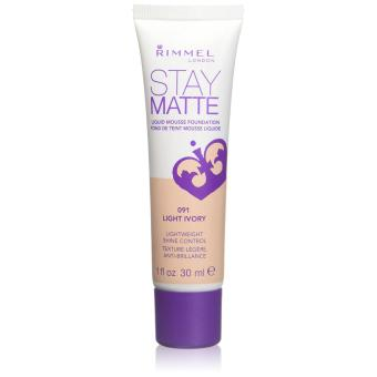 Rimmel Stay Matte Liquid Mousse Foundation (Light Ivory)