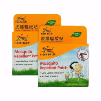 Tiger Balm Mosquito Repellent Patch 10 Sheets x 2 Packs