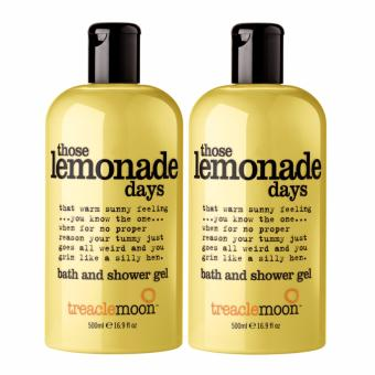 Treaclemoon(R) Those Lemonade Days Bath & Shower Gel 500ml x 2(Twin Pack)